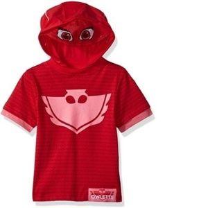 PJ Masks - Girls Owlette Hooded Tee (NWT)